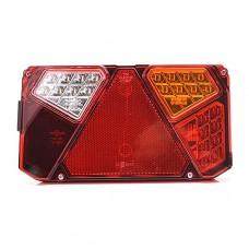 LED lukturis, WAS, numura apgaismojums sānos, labais