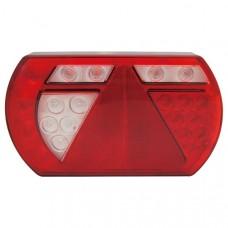 LED aizmugurējais lukturis Lucidity, kreisais (ar numura apgaismojumu)