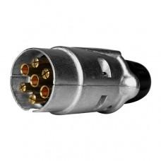 Piekabes kontakta spraudnis 7 poli (alumīnija)